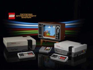 Console de jeu NES de Nintendo a decouvrir en version LEGO