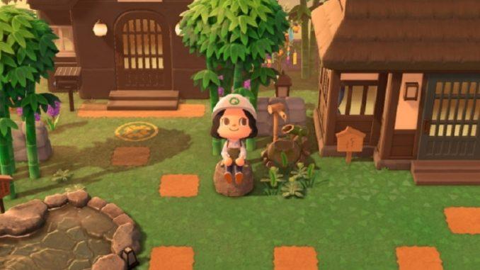 Animal Crossing, Tatcha imagine Tatchaland pour le jeu video