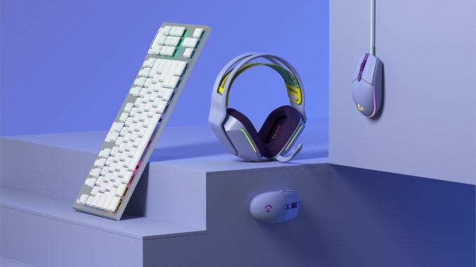 Color Logitech G pour gamers, une collection d accessoires dediee