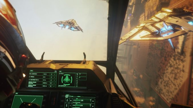 Star Citizen, jeu de simulation spatiale du studio Cloud Imperium Games
