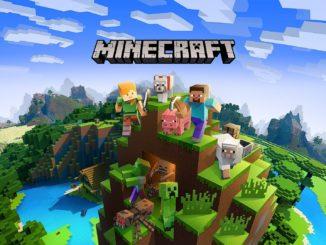 Minecraft, jeu de Mojang studios en realite virtuelle sur PlayStation VR