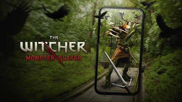 Jeu The Witcher Monster Slayer en realite augmentee signe CD Projekt