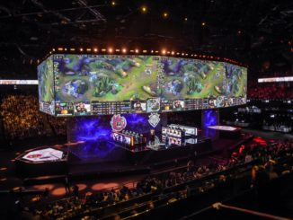 League of Legends, finale des Worlds 2020 du jeu video a Shanghai
