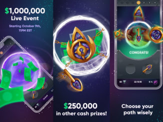 Portals, jeu mobile de l application Press Play Slots qui rend millionaire