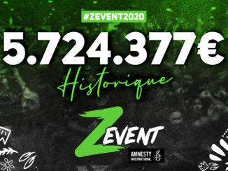 Z Event, evenement dedie aux jeux video et l ONG Amnesty International