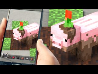 Minecraft Earth, jeu en realite augmentee de Microsoft et la Covid 19