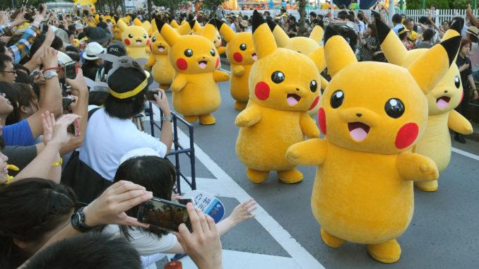 Pokemon, jeu : le personnage de Pikachu celebre son 25e anniversaire