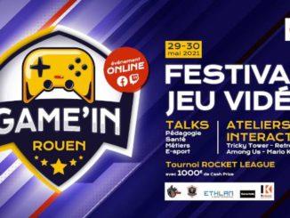 Jeu video, festival de jeux Game in Rouen sur la culture videoludique